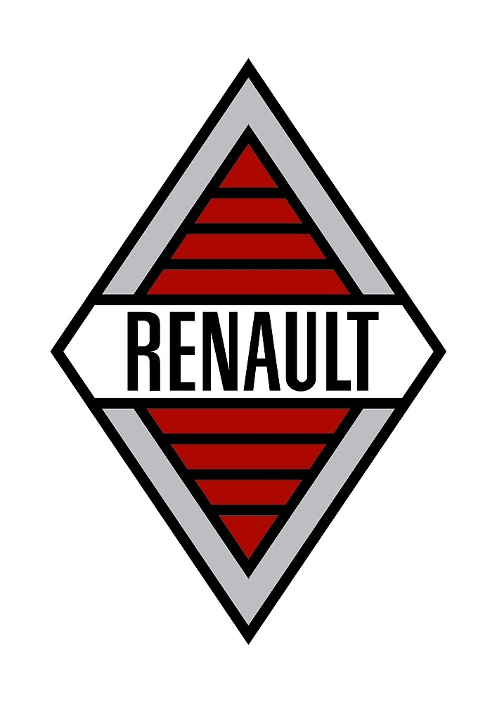 Classic Car Logos: Renault by brookestead