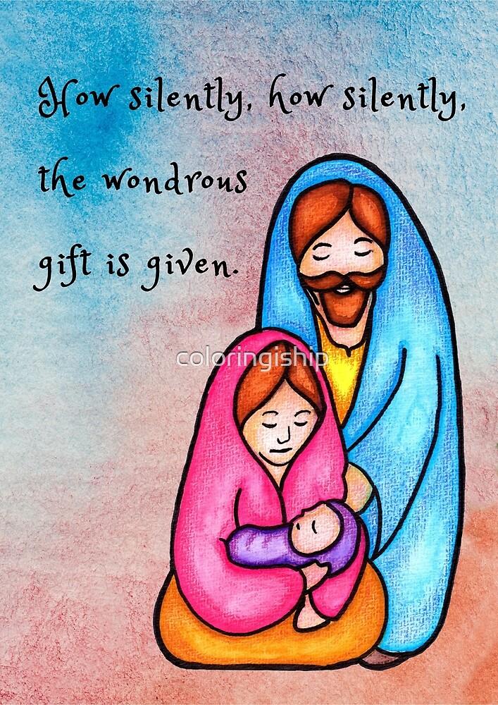 Christmas Nativity  by coloringiship
