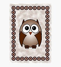 Little Cute Owl Photographic Print