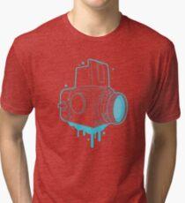 Hassel Blue Tri-blend T-Shirt