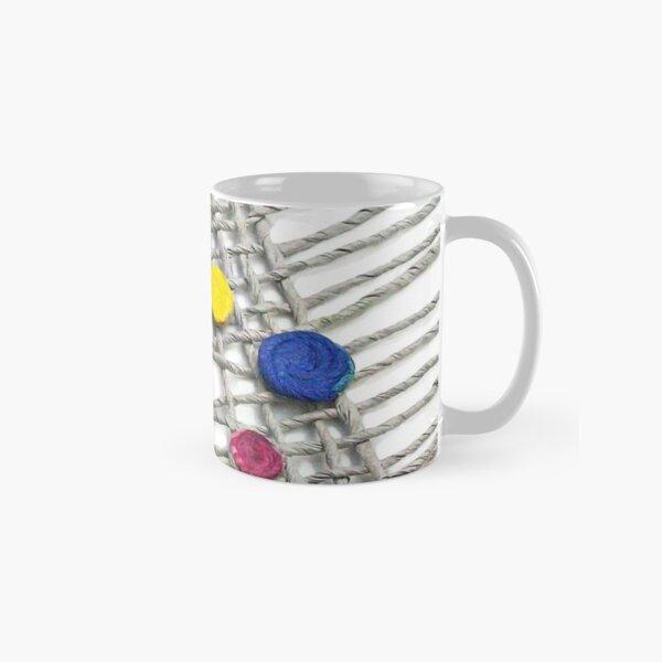 CONFETTI - happy colors on a net - Classic Mug
