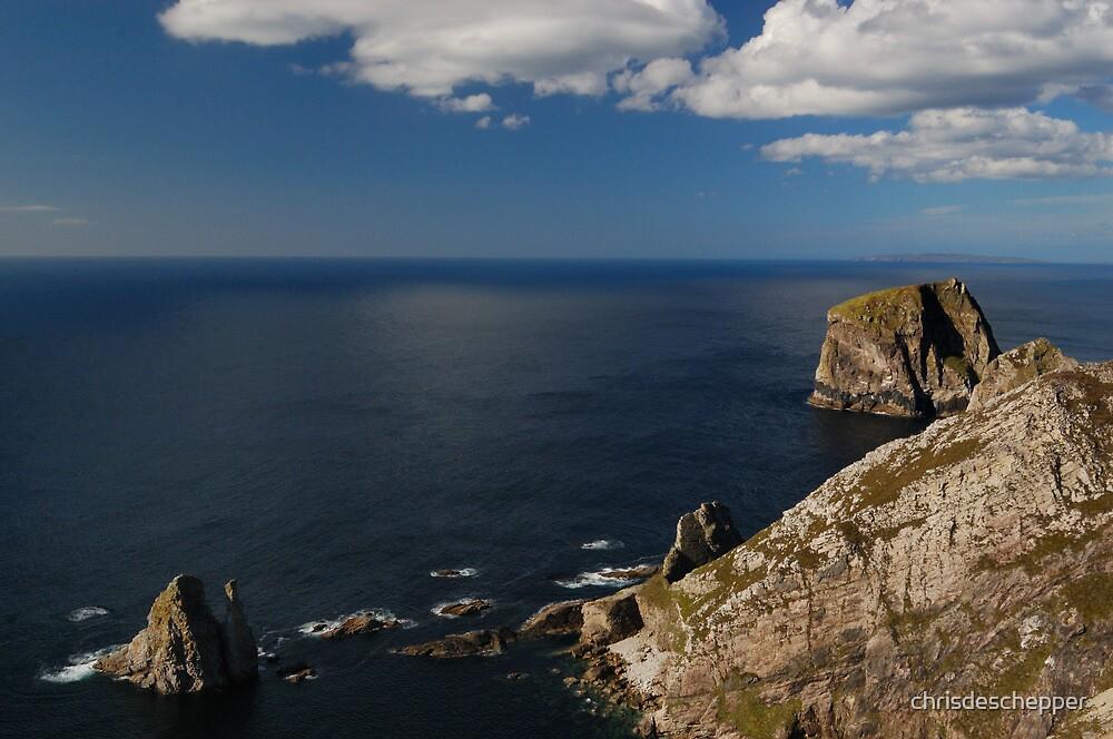 Donegal coast by chrisdeschepper