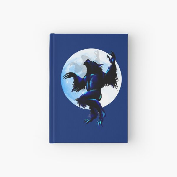 Werewolf On The Loose Hardcover Journal