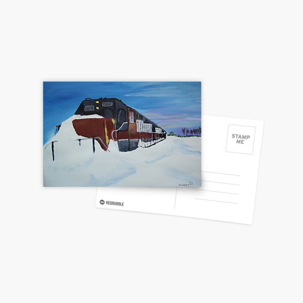 Snowbound Postcard