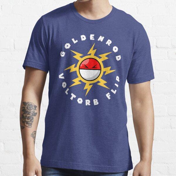 Goldenrod Voltorb Flip (in White) Essential T-Shirt