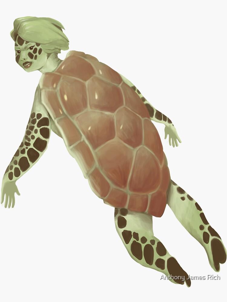 Turtle Girl | Digital Illustration by AJRart