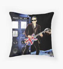 Doctor Rocker Throw Pillow