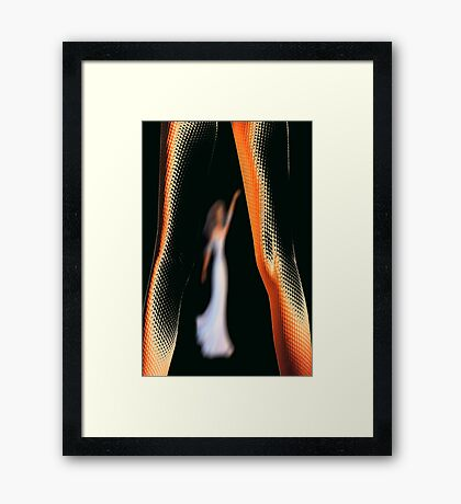 walk tall Framed Print