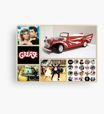 Grease Lightning Canvas Print