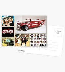 Grease Lightning Postcards