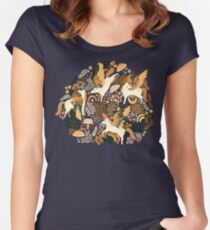 Pegasus Paradise  Fitted Scoop T-Shirt