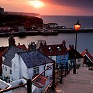 The 199 Steps, Whitby by Dave Hudspeth