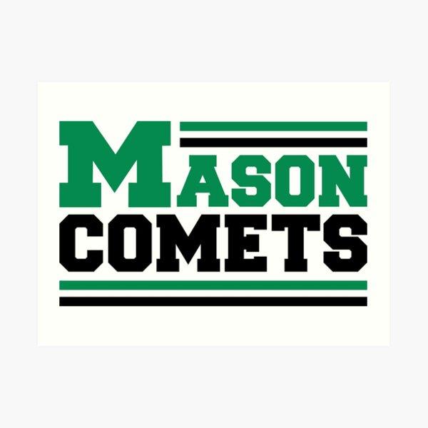 Mason Comets Art Print