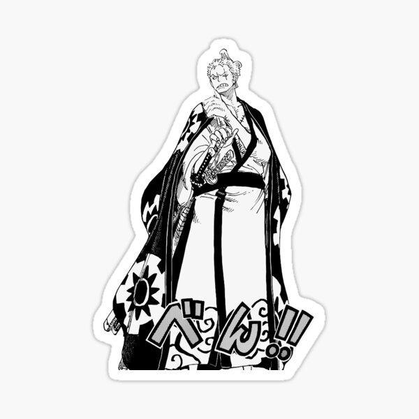 Une seule pièce | Sticker Roronoa Zoro Sticker