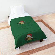 Christmas German Shepherd Comforter