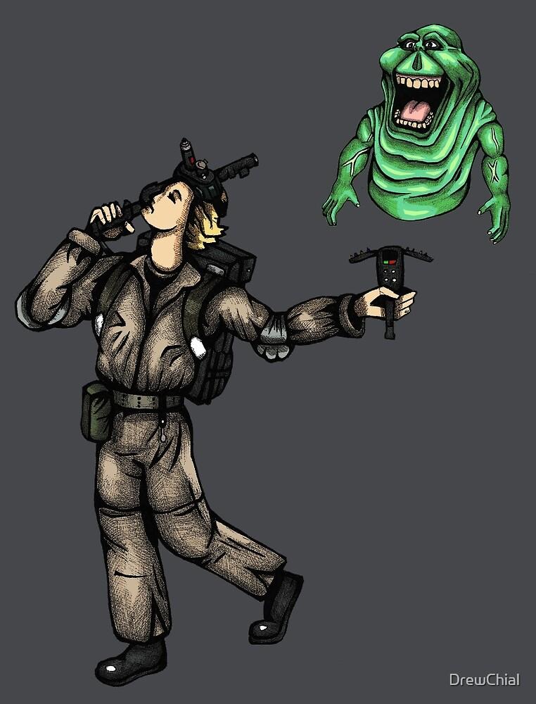 The Ghostbusters Fool Tarot by DrewChial