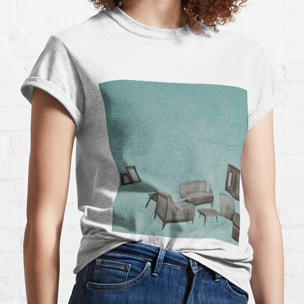 The living room is floating away Classic T-Shirt