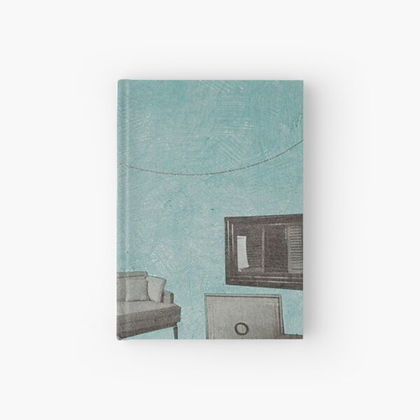 The living room is floating away Hardcover Journal