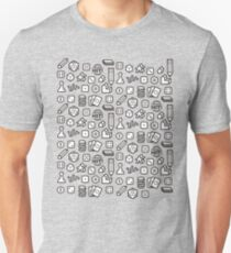 Board Game Pieces Unisex T-Shirt