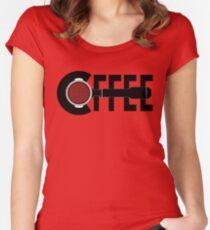 C(portafilter)ffee Women's Fitted Scoop T-Shirt
