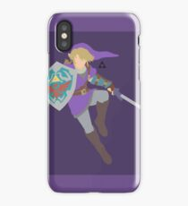 Link (Purple) - Super Smash Bros. iPhone Case