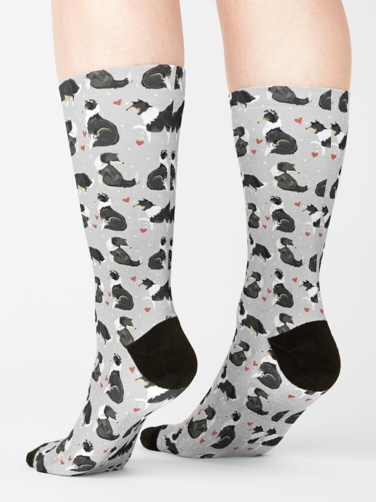 Alternate view of Collie Love Socks