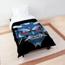 oni mask Comforter