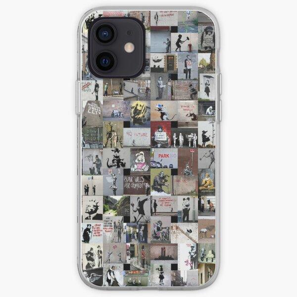 Banksy Coque souple iPhone