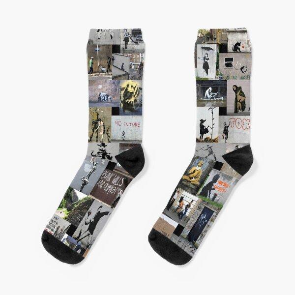 Banksy Socks