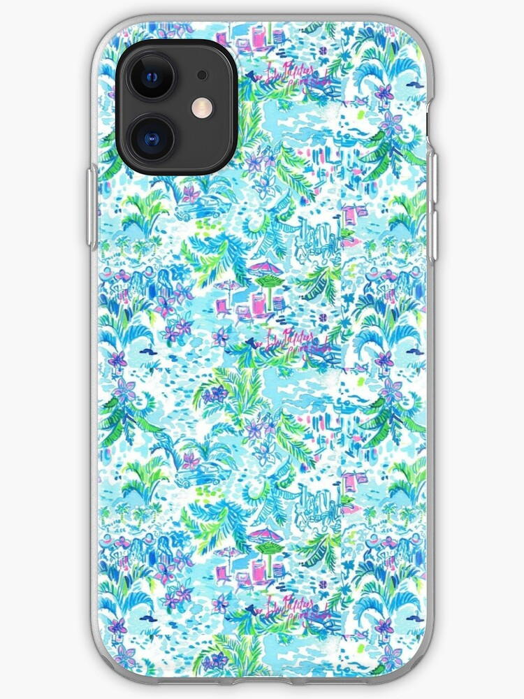 Beach scene iphone 11 case