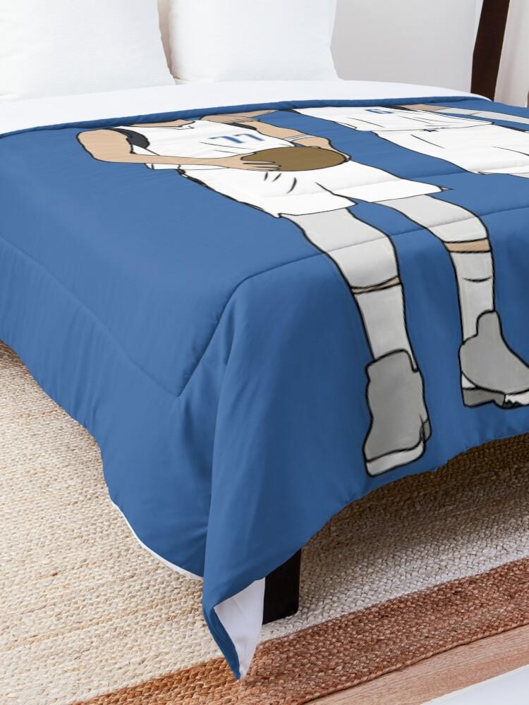 Alternate view of Luka And Kristaps Comforter
