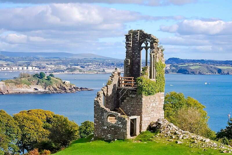 Quot The Folly Plymouth From Mount Edgcumbe Quot By Dondavisuk