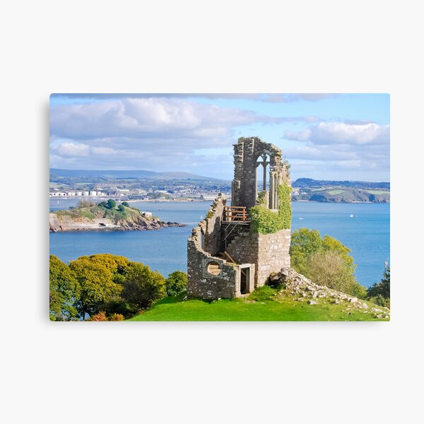 The Folly: Plymouth from Mount Edgcumbe Metal Print