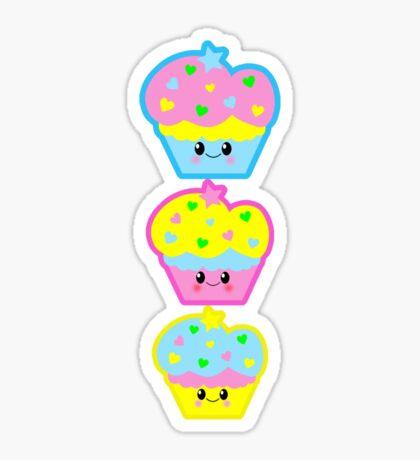 Cutie Cake Trio Sticker