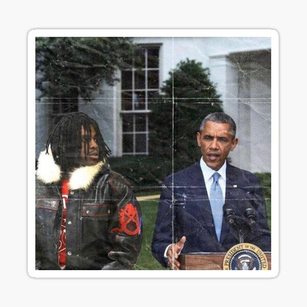 Chief keef and Barack Obama  Sticker
