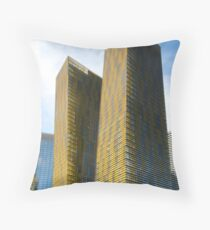 Veer Towers Throw Pillow