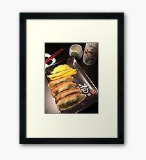 food for sake Framed Print