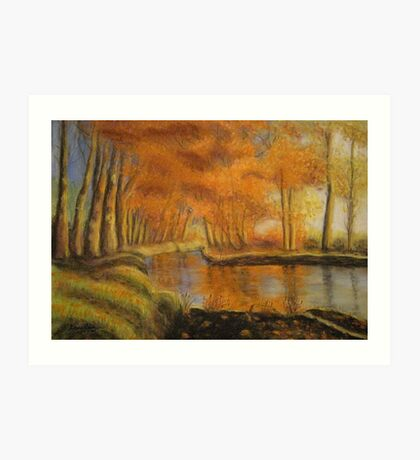 Braid River near Ballymena, Northern Ireland Art Print