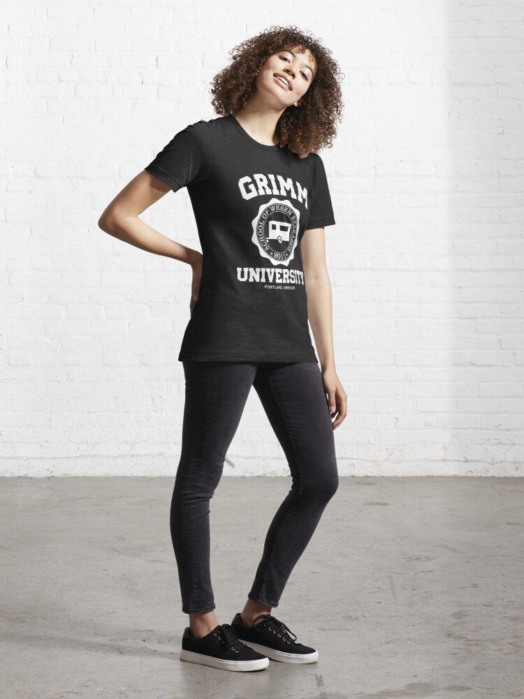 Alternate view of Grimm University Essential T-Shirt