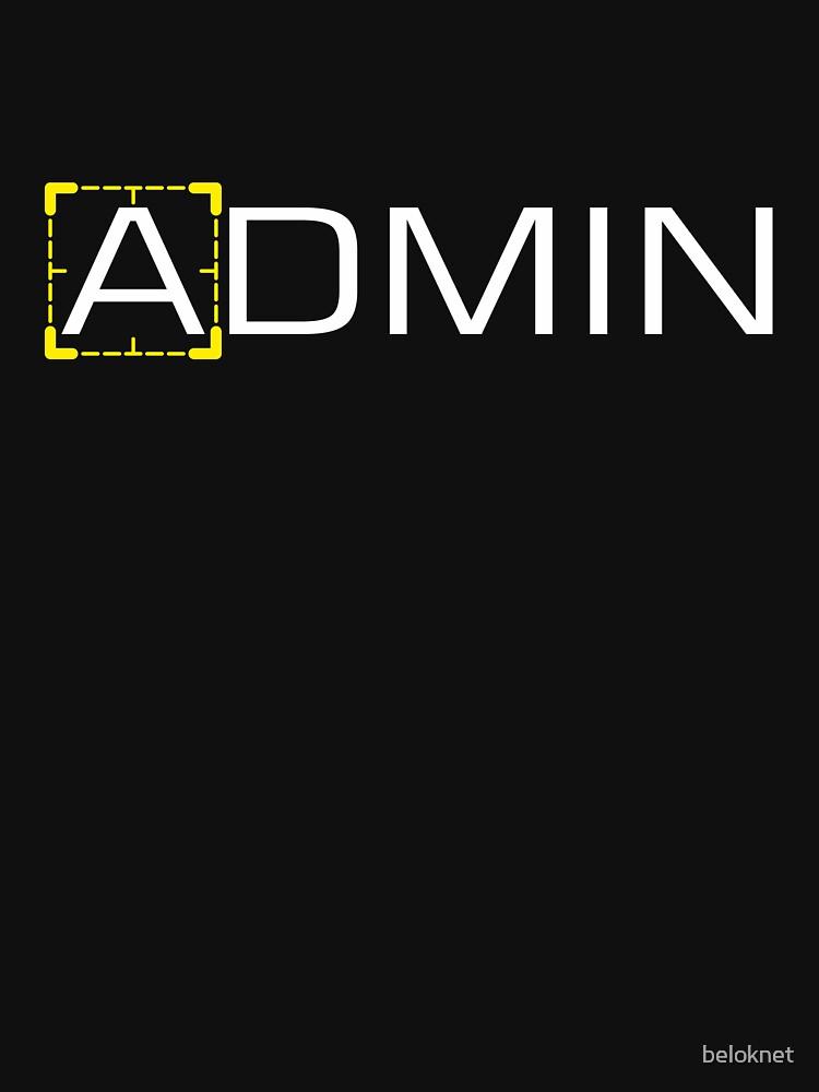 Person of Interest - Admin by beloknet