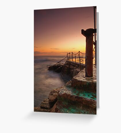 Bronte Baths Greeting Card