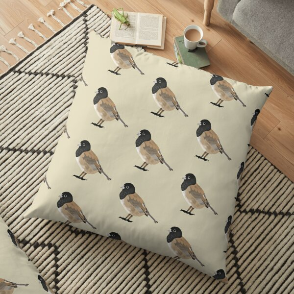 Richard the Bird Floor Pillow
