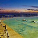 Sunrise Swim by Mark  Lucey