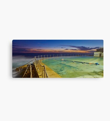 Sunrise Swim Canvas Print