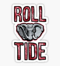 Roll Tide w/ Elephant Sticker
