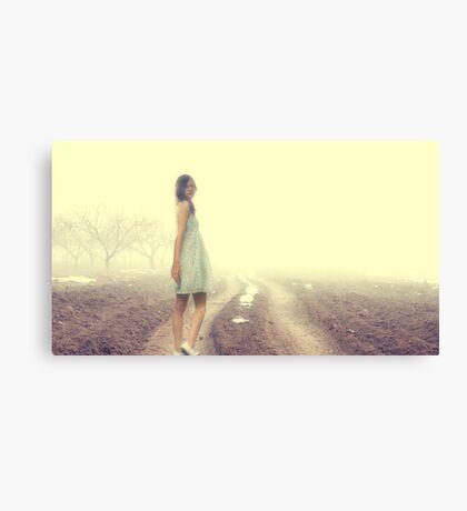 Just Walk Away... Canvas Print