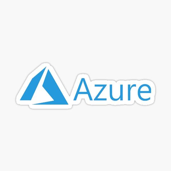 Azure Logo Sticker