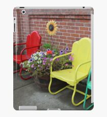 Come and sit for awhile..... iPad Case/Skin