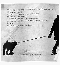 The Way a Dog Trots Poster