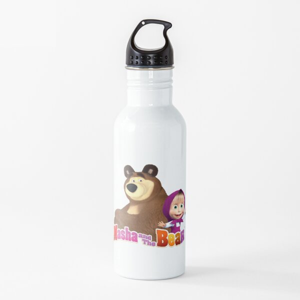 Masha and the Bear! (Logo) Water Bottle